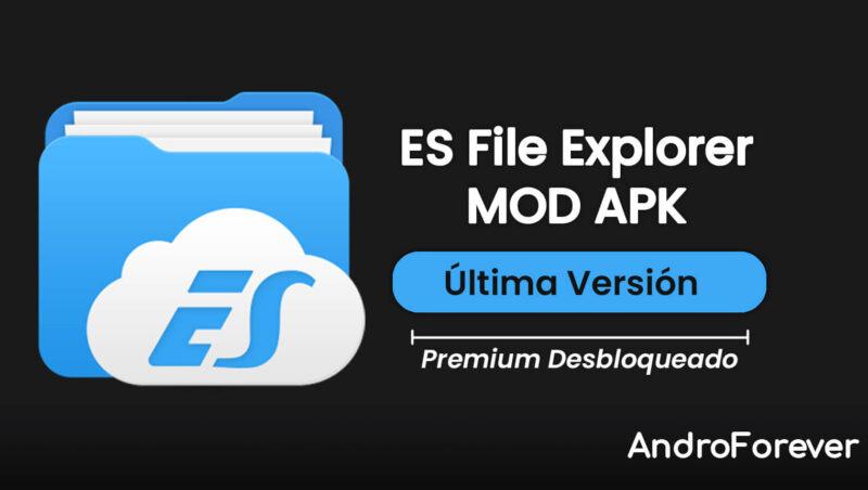 es file explorer apk premium mod