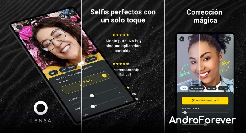 lensa mod apk para android