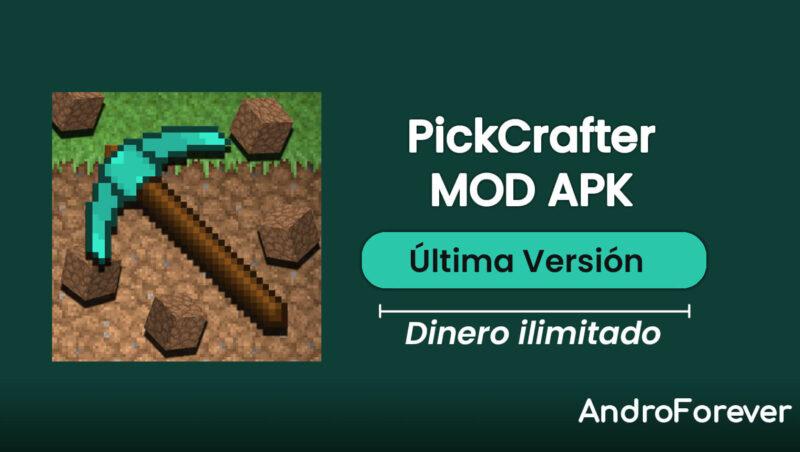 descargar pickcrafter apk mod hack para android