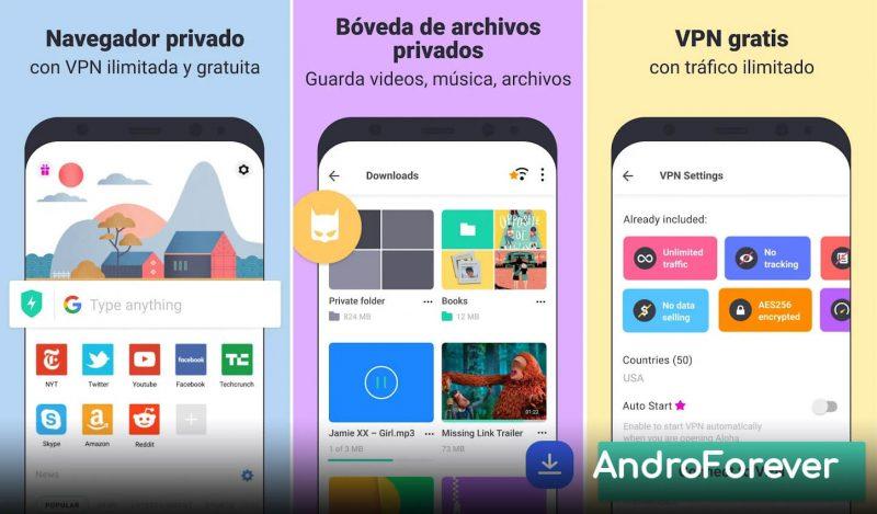 aloha browser turbo mod apk android