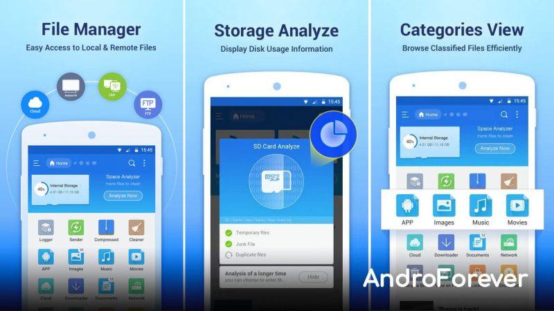 es file explorer mod apk android