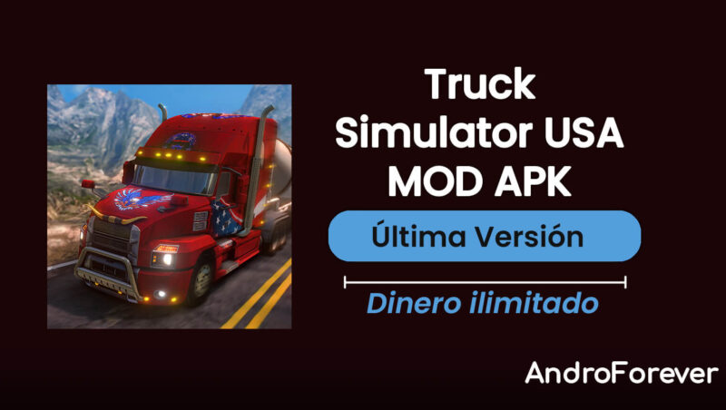 descargar truck simulator usa apk mod hack para android