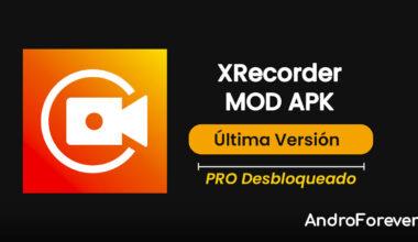 descargar xrecorder apk mod para android