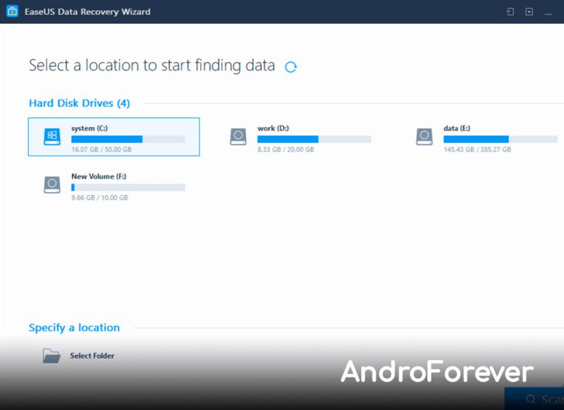 descargar EaseUS Data Recovery