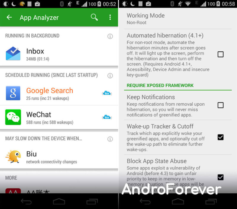 greenify mod pro android