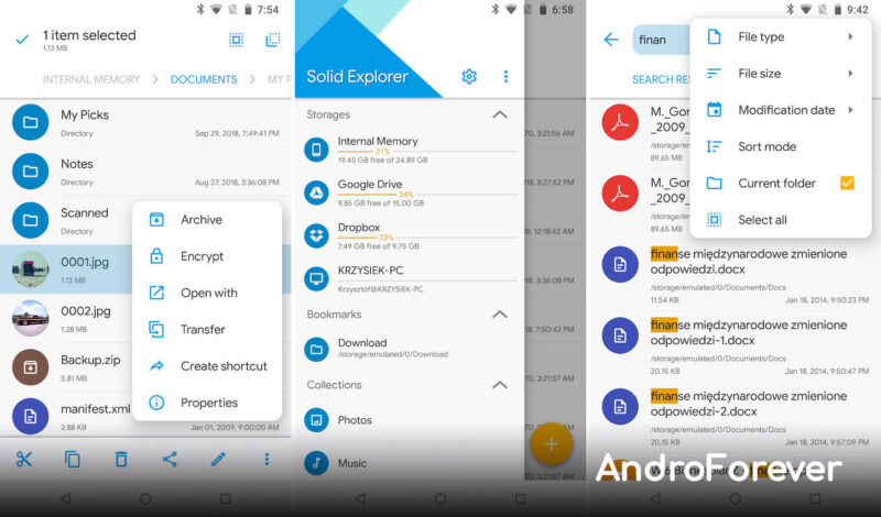 solid explorer pro apk mod android
