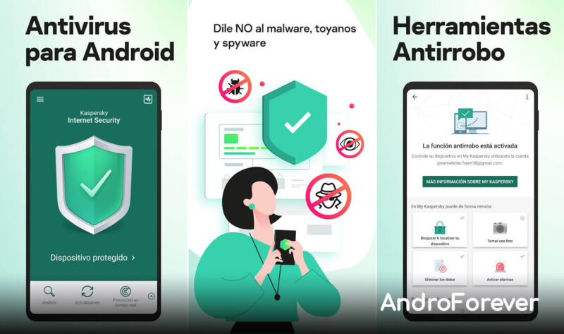 kaspersky para android