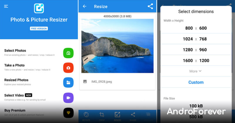photo picture resizer apk mod para android