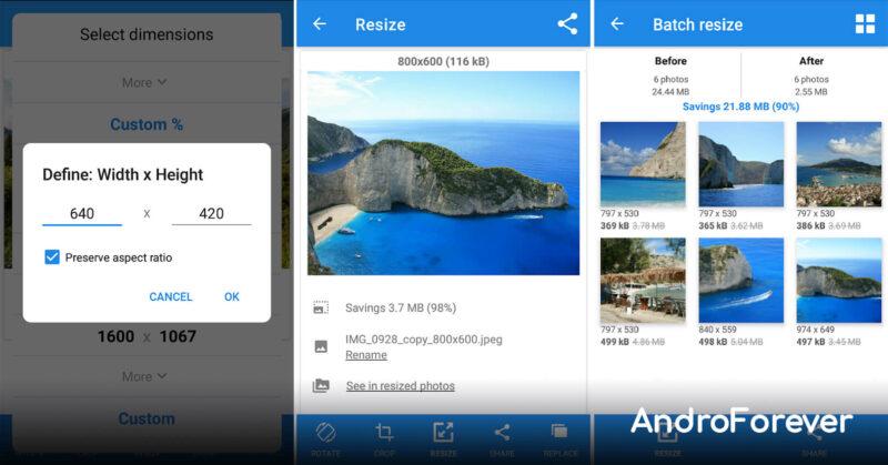 Photo Picture Resizer premium para android apk mod